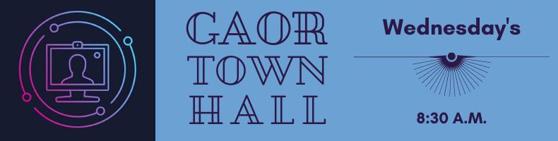 GAOR Town Hall