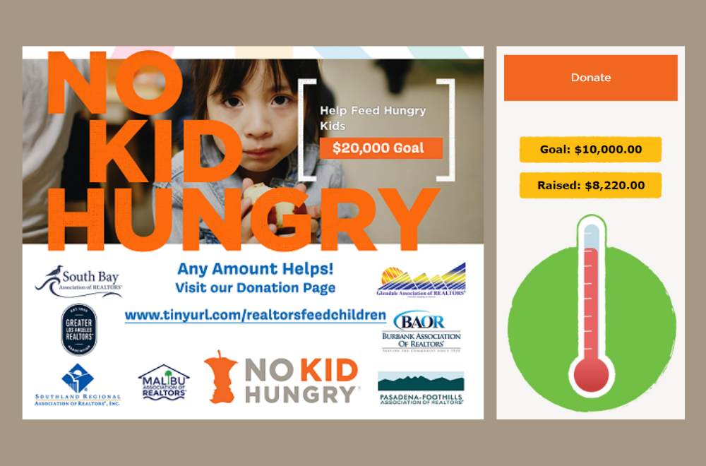 REALTORS United - No Kid Hungry