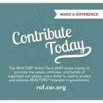 RAF - REALTOR® Action Fund Flyer - Contribute Today