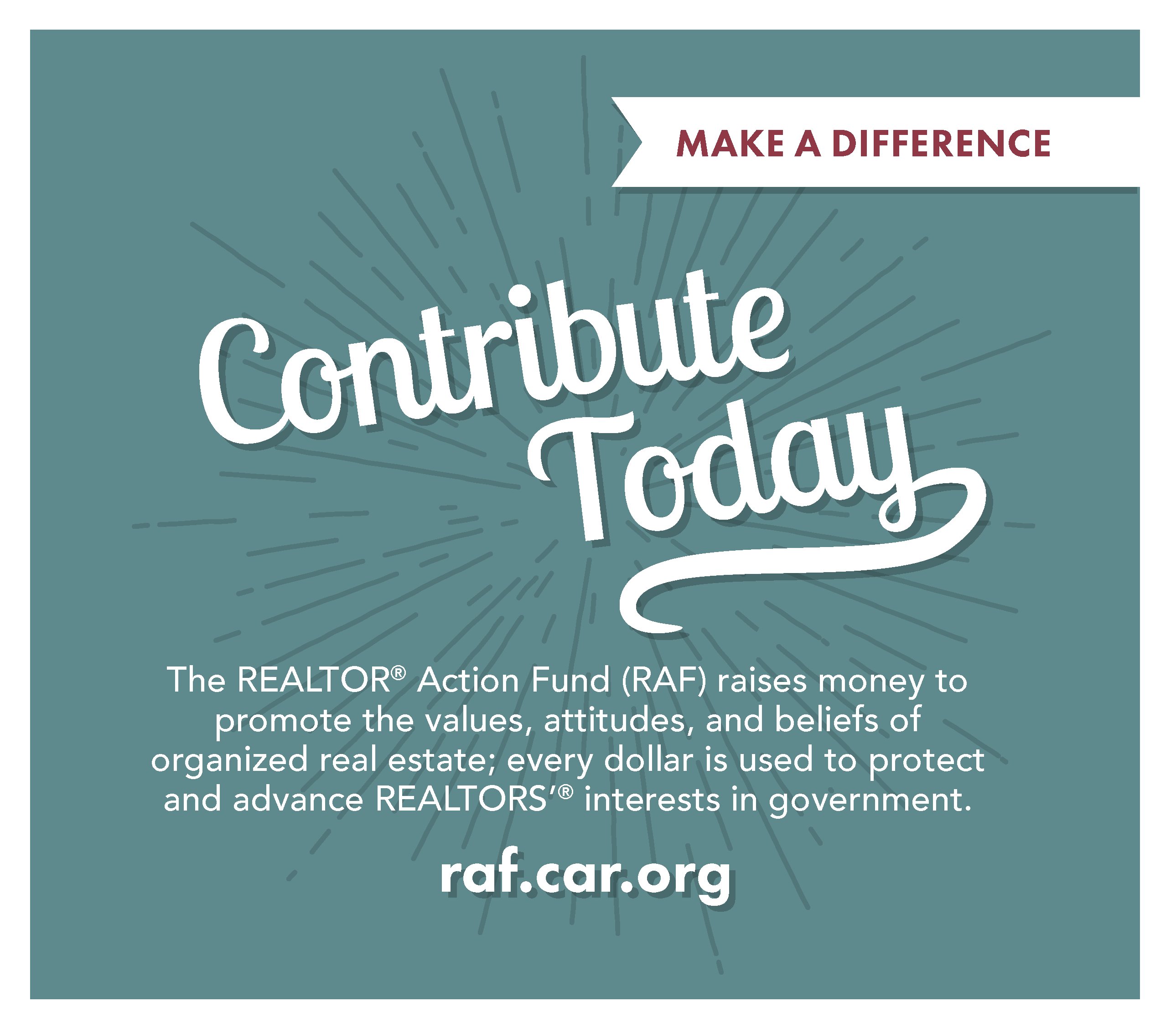RAF - REALTOR® Action Fund Flyer - Contribution Page 2