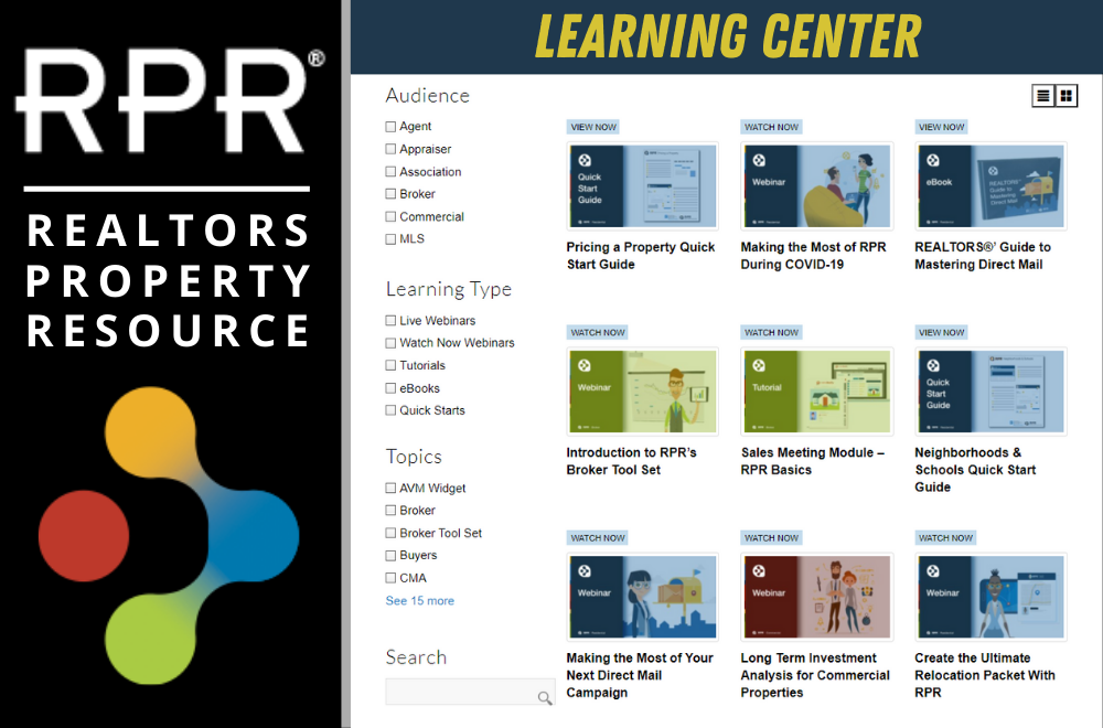 RPR Learning Center