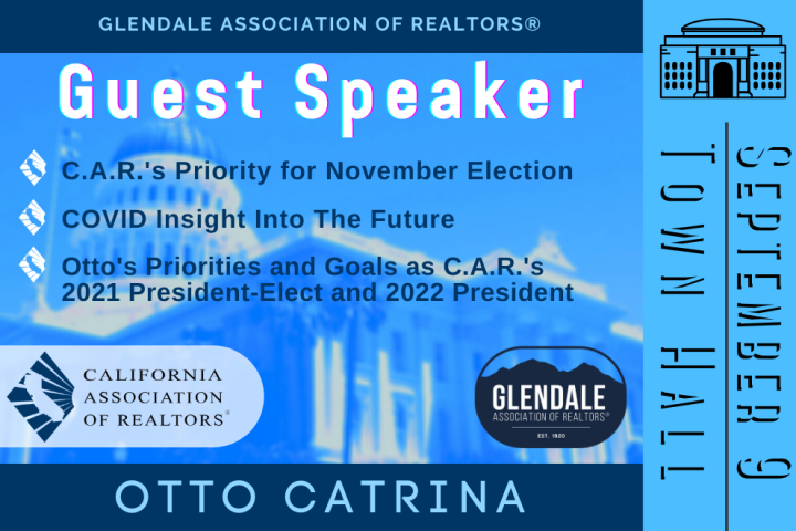 Otto Catrina CAR - Town Hall Guest Speaker