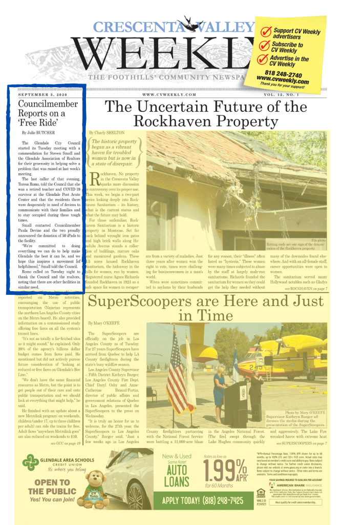 crescent valley weekly news