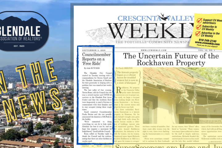 crescenta valley weekly news - Ipad