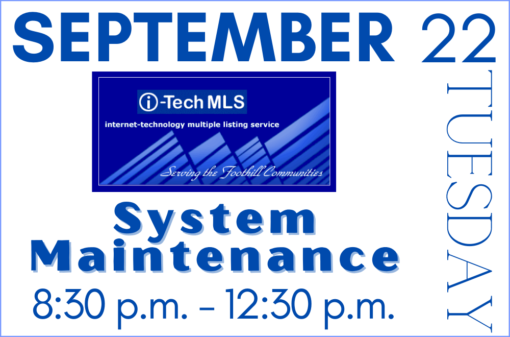 iTECH System Maintenance