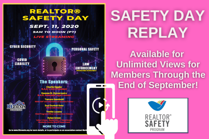 Realtor Safety Day Replay