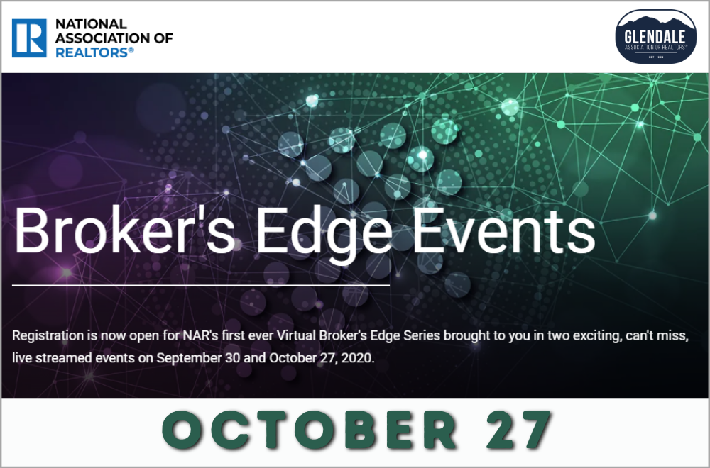 NAR Broker's Edge Events