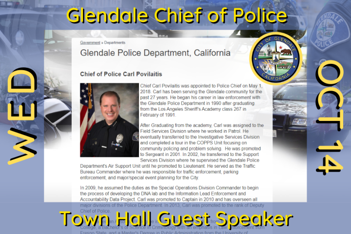 Glendale Chief of Police