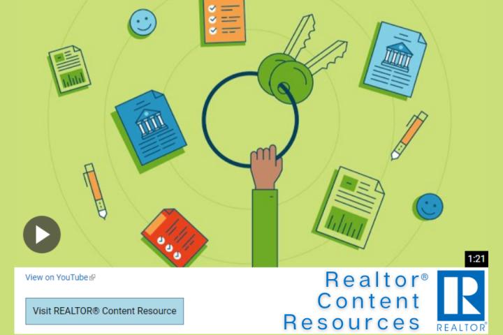NAR RCR Realtor Content Resources