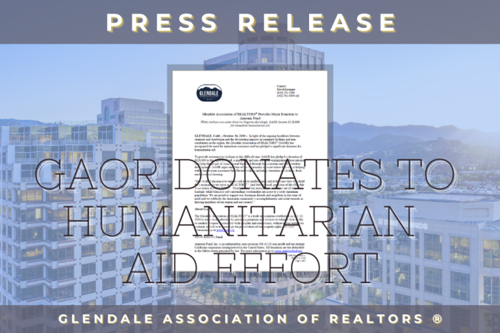 Humanitarian Aid Effort to Armenia Fund