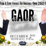 GAOR Annual Installation