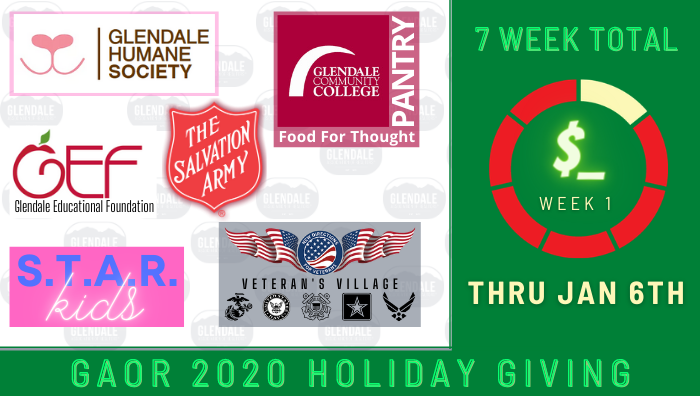 GAOR 2020 Holiday Fundraiser