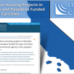 Workforce housing projects in Glendale and Pasadena