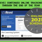REVEI Training in 2021