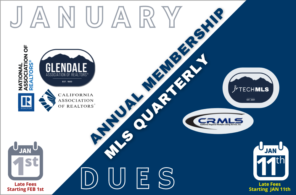ANNUAL and QUARTERLY Fees Now Due