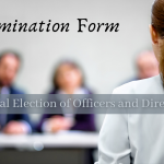 Annual Election of Officers and Directors