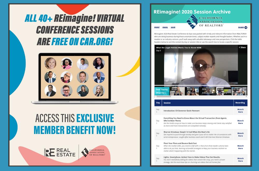 REimagine - Free C.A.R. Member Benefit