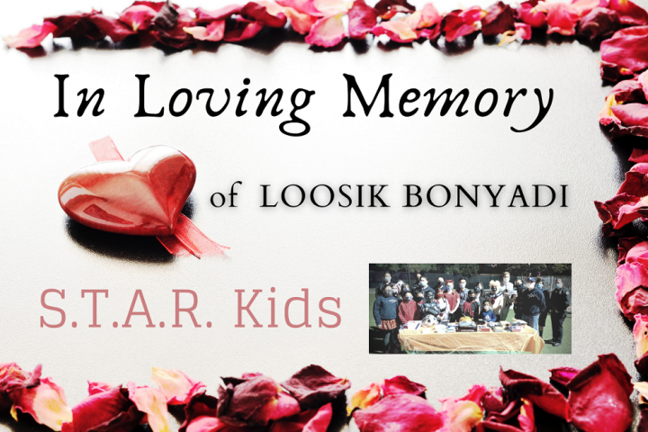 In Memory of Loosik Bonyadi
