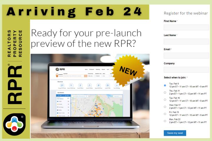 RPR - New Website