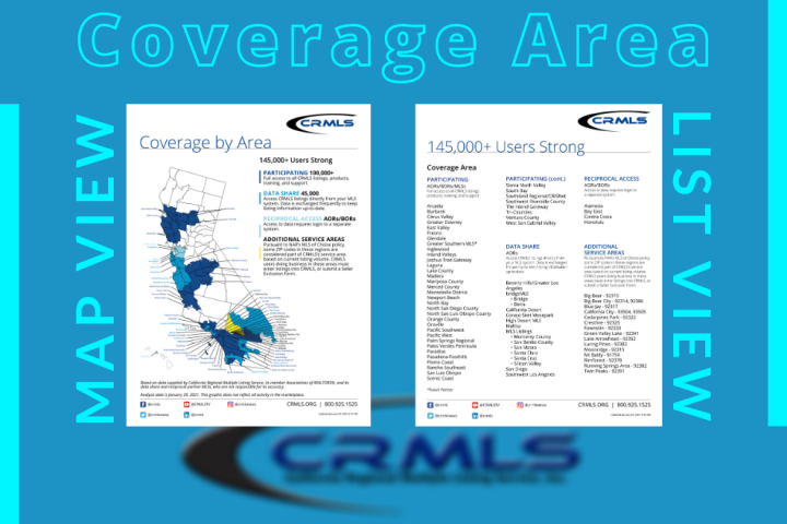 CRMLS Coverage Area