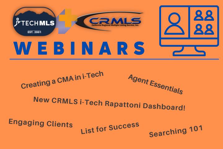 iTech-CRMLS Webinars