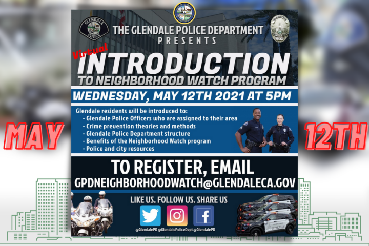 Glendale Police - Neighborhood Watch Program