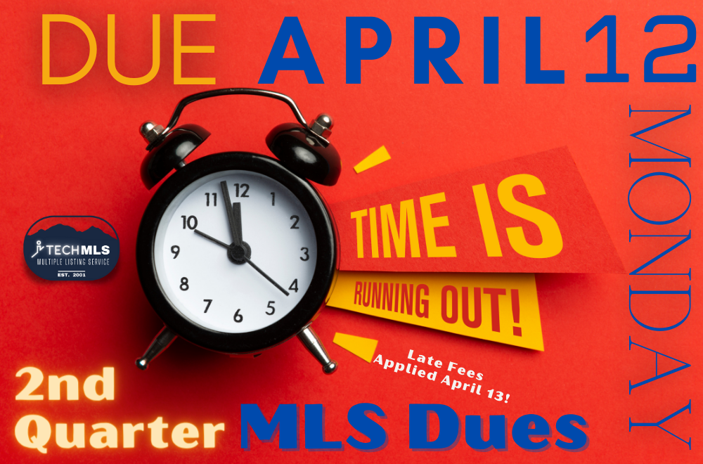 2nd Quarter MLS Fees Now Due