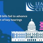 league of california cities - 200 bills
