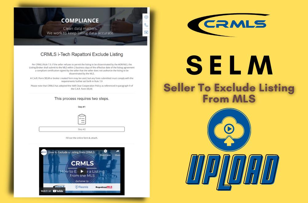 SELM Upload to CRMLS