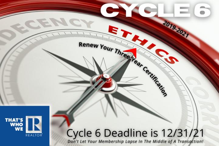 Code of Ethics - Cycle 6
