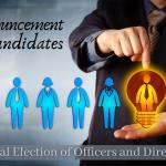 2020 Slate of Candidates