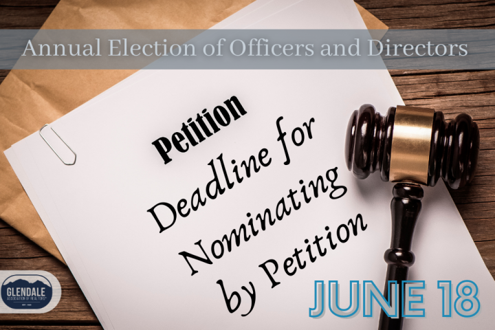Deadline for nominating for petition