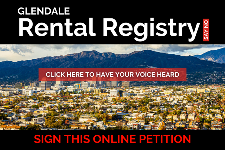 Oppose City of Glendale Rental Registry