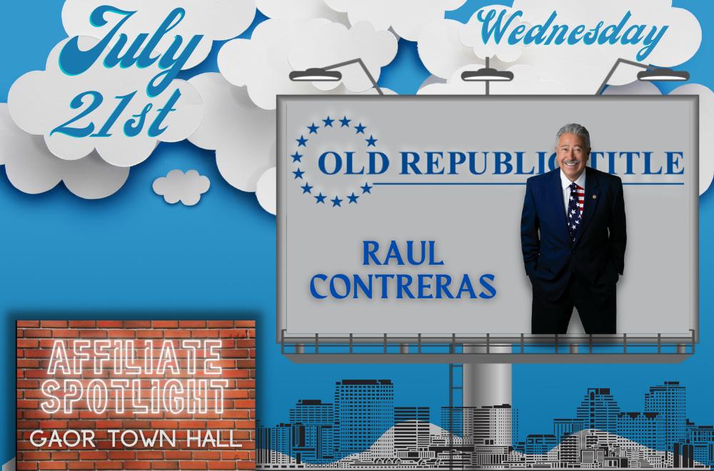 Old Republic Title - Raul Contreras - Affiliate Spotlight