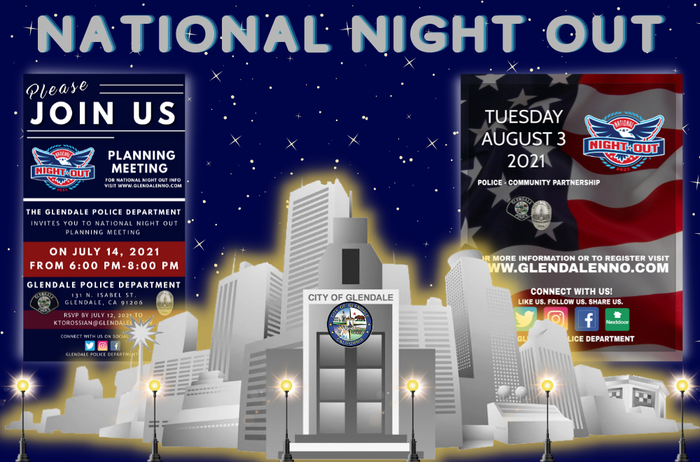 NNO - National Night Out - City Of Glendale