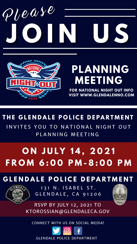NNO Planning Meeting