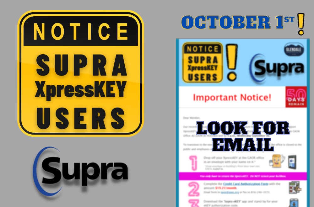Supra XpressKEY Users