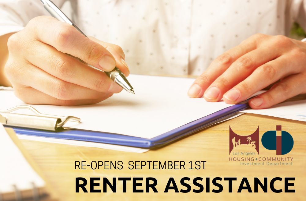 Renter Assistance Sept 1 2021
