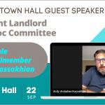 Glendale Councilmember Ardy Kassakhian - Tenant Landlord Ad Hoc Committee