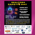 Realtor Safety Day Sep-10 @ 10 a.m.
