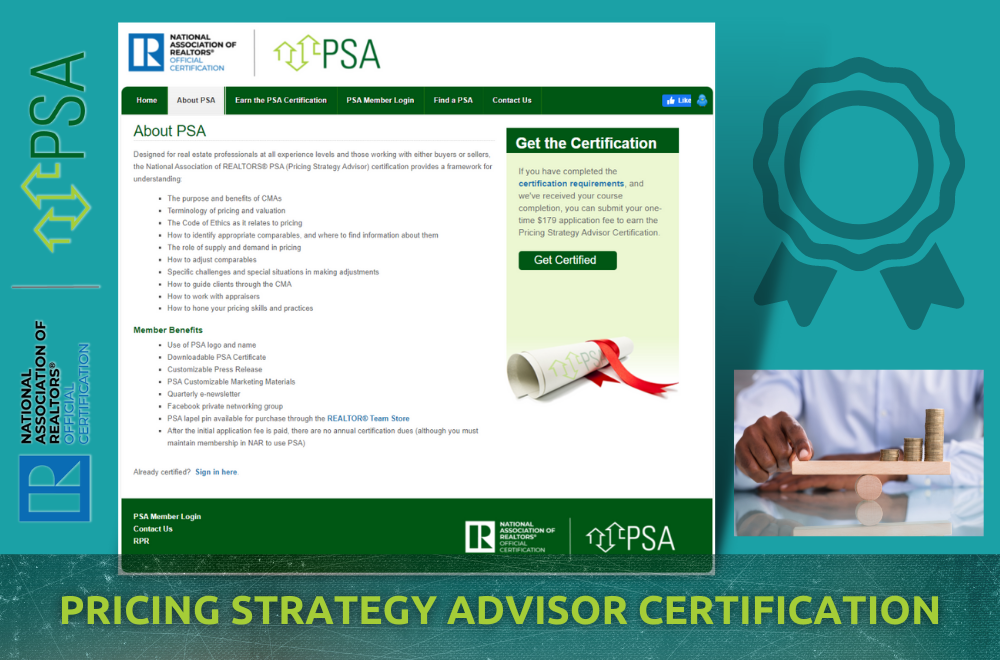 NAR PSA - Pricing Strategy Advisor
